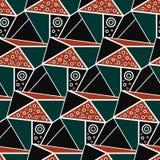 Geometric seamless pattern background. Abstract background. Vector seamless pattern illustration royalty free illustration