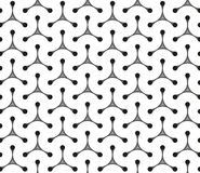 Geometric seamless pattern background Stock Photography