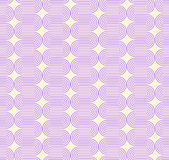 Geometric seamless pattern background with curved line. Stock Photography