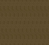 Geometric seamless pattern background with line and weave style. Stock Photos
