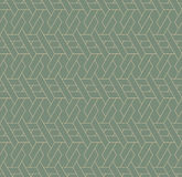 Geometric seamless pattern background with line and weave style. Royalty Free Stock Image