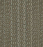 Geometric seamless pattern background with line and weave style. Stock Photography