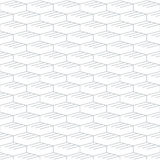Geometric seamless pattern and background, linear design Royalty Free Stock Images