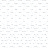 Geometric seamless pattern and background, linear design Royalty Free Stock Photos