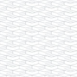 Geometric seamless pattern and background, linear design Stock Images