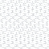 Geometric seamless pattern and background, linear design Stock Photos