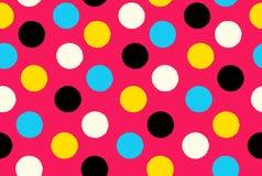 Free Geometric Seamless Pattern Background Polka Dots Royalty Free Stock Photography - 38642407