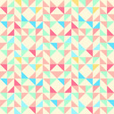 Geometric seamless pattern background with triangle trapezoid an Stock Images