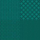 Geometric seamless pattern background. Vector illustration Stock Photos