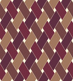 Geometric seamless pattern background with weave style. Stock Photo