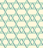 Geometric seamless pattern background with weave style. Stock Photos