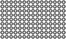 Geometric seamless pattern ,Black and white Royalty Free Stock Image