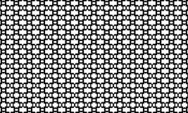Geometric seamless pattern ,Black and white Stock Image