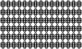Geometric seamless pattern ,Black and white Royalty Free Stock Photo