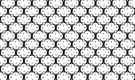 Geometric seamless pattern ,Black and white Stock Photos