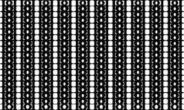 Geometric seamless pattern ,Black and white Royalty Free Stock Photos