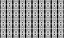 Geometric seamless pattern ,Black and white Stock Images