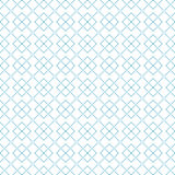 Geometric seamless pattern. Blue abstract background with square shape elements and dotted lines. Vector illustration stock illustration