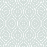 Geometric Seamless  Pattern. Pattern with seamless  blue and white ornament. Modern stylish geometric background with repeating wavy elements Royalty Free Stock Photo