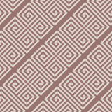 Geometric seamless pattern. Brown abstract background with square shape elements Royalty Free Stock Photos