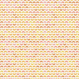 Geometric Seamless Pattern. Geometric pattern with colorful arrows. Seamless abstract background royalty free illustration