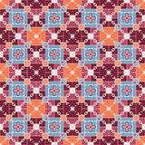 Geometric seamless pattern. Colorful seamless pattern in geometrical style Royalty Free Stock Images