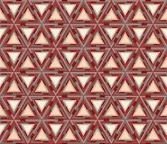 Geometric seamless pattern consisting of triangles. Useful as design element for texture and artistic compositions Stock Photos