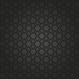 Geometric Seamless Pattern. Geometric dark ornament with black grill. Seamless pattern for wallpapers and backgrounds Stock Image