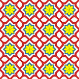 Geometric seamless pattern. Seamless pattern design based on classic eastern art Royalty Free Stock Photo