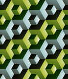 Geometric seamless pattern, endless colorful vector regular back Royalty Free Stock Images