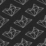 Geometric seamless pattern Stock Images