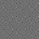 Geometric seamless pattern. royalty free illustration