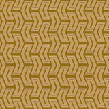 Geometric Seamless Pattern. Geometric pattern with golden arrows. Seamless abstract background vector illustration