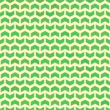Geometric Seamless Pattern. Geometric pattern with green arrows. Seamless abstract background royalty free illustration