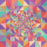 Geometric seamless pattern grunge texture background EPS10 file. Stock Photography