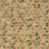 Geometric seamless pattern with a grunge texture Royalty Free Stock Image