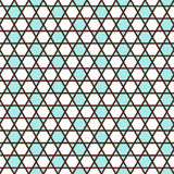Geometric seamless pattern in islamic style Stock Photography
