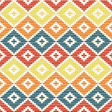 Geometric seamless pattern. Kogin embroidery style Stock Images