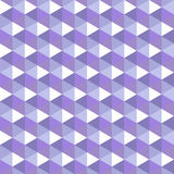 Geometric seamless pattern lavender palette Stock Photography