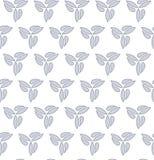 Geometric Seamless Pattern. Seamless light silver ornament. Modern stylish geometric pattern with repeating elements Stock Photography