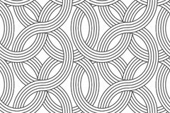 Geometric seamless pattern with linear. Linear seamless pattern. Subtle geometric background royalty free illustration