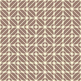 Geometric seamless pattern, looks like coffee beans. Coffee motifs simple pattern. Cocoa and vanilla color print. Repeating mocha and vanilla texture Stock Images