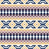 Geometric seamless pattern. Motives of American Indians. Ethnic background. Stock Photo
