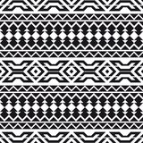 Geometric seamless pattern. Motives of American Indians. Ethnic background. Royalty Free Stock Photo