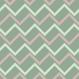 Geometric seamless pattern. Olive green background with pale pink elements. For wallpapers, textile and fabrics Stock Photo
