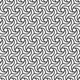 Geometric Seamless  Pattern. Geometric ornament. Seamless  background. Abstract texture for wallpapers. Repeating geometric elements. Black and white pattern Royalty Free Stock Image