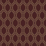 Geometric Seamless  Pattern. Geometric ornament. Seamless  background. Abstract texture for wallpapers. Repeating vertical golden waves Stock Photography