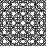 Geometric Seamless Pattern. Geometric ornament with fine elements. Seamless black and white pattern for wallpapers and backgrounds Royalty Free Stock Image