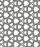 Geometric Seamless Pattern. Geometric ornament with fine elements. Seamless black and white pattern for wallpapers and backgrounds Royalty Free Stock Photo
