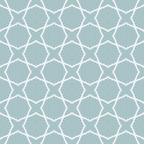 Geometric Seamless Pattern. Geometric ornament with fine elements. Seamless light blue and white pattern for wallpapers and backgrounds Royalty Free Stock Images